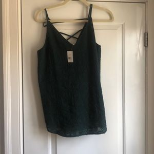 New with tags - green cami